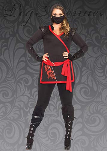 Magic Box Disfraz de guerrera Ninja Talla Grande para Mujer ...