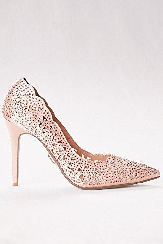 Pointed Embellished Cut Crystal SBEMILY Laser Multi Pumps David's Style Toe Bridal xwZXqEn6