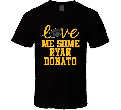 Ryan Donato Love Me Some Boston Hockey Fan T Shirt L Black