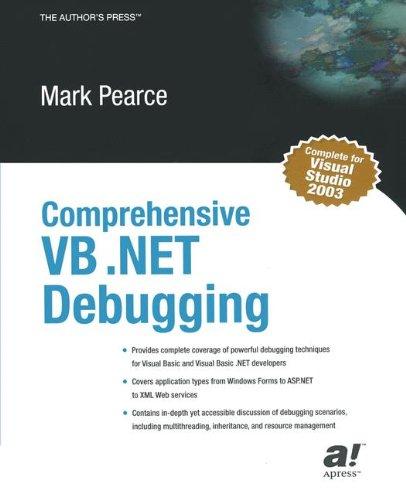 Comprehensive VB .NET Debugging by Brand: Apress