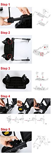 Zerlar Universal Ride-On Stroller Board Stroller Connectors by Zerlar (Image #5)