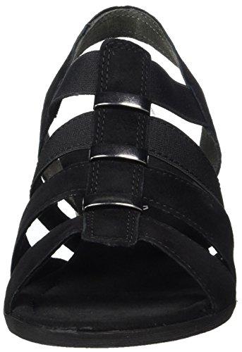 Gabor Ladies Comfort Sandali Aperti Con Il Nero (nero 47)
