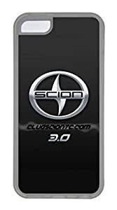 iPhone 5C Case, iPhone 5C Cases - Scratch Resistant Crystal Clear Case for iPhone 5C Scion Car Logo 14 Thinnest Ultra Flexible Soft Back Case for iPhone 5C