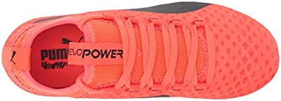 PUMA Kids' Evopower Vigor 3D 3 FG Jr Soccer Shoe