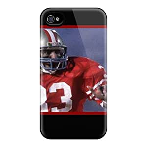 CheapCases Iphone 4/4s Well-designed Hard Case Cover San Francisco 49ers Protector