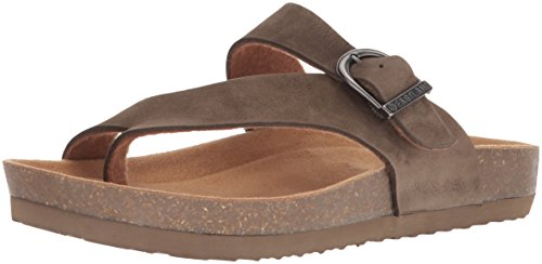 Eastland Women's Shauna Sandal, Olive, 9 M US - Exclusive Foam