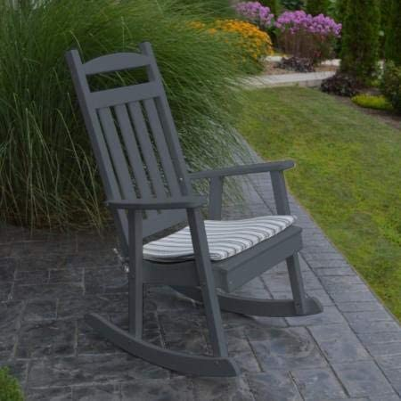 A L Furniture Company Classic Recycled Plastic Porch Rocking Chair