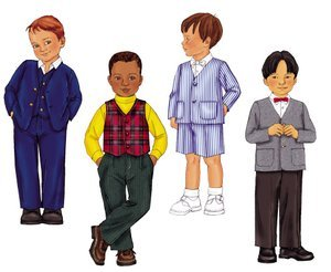 Butterick Little Boys Clothes Pattern Pattern #6894 (Sewing Boy Clothes compare prices)