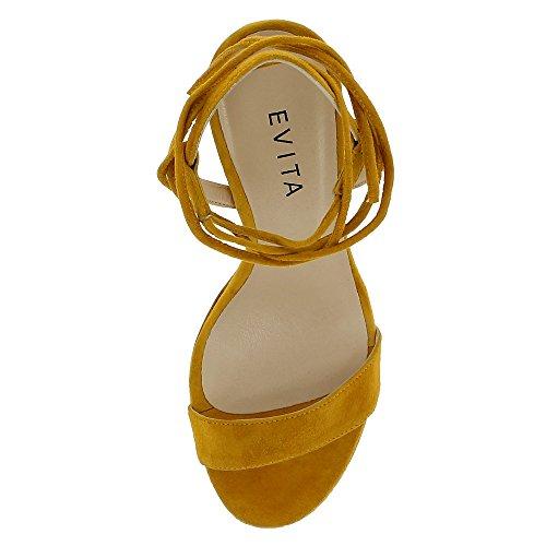 Daim Femme Ocre Ocre Sandales Sandales Sandales EVA EVA Daim Femme EVA wtRtPB