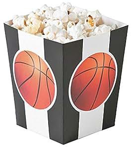 Amazon.com: Small Basketball Popcorn Boxes - 24 ct: Kitchen & Dining