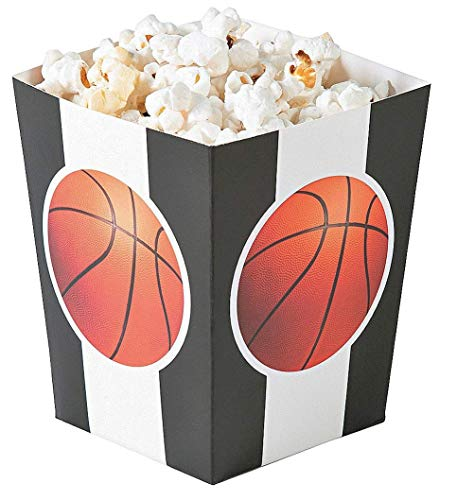 Small Basketball Popcorn Boxes - 24 ct ()