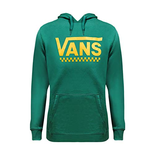 Vans Classic Pullover Hoodie (Large, Green/Yellow)
