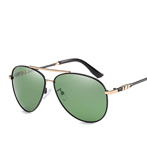 uv400 al Marea polarizadas de Regalos Anti de C Conductor Espejo Hombres creativos Manera Sol de Aire de Las Gafas de Libre Gafas la Sol Axiba qIwa4Ox