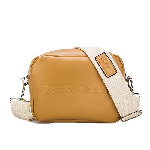 AgooLar Crossbody Pu Bags Casual Women's Yellow GMDBA203566 Gray Bags wwvzF7Uq