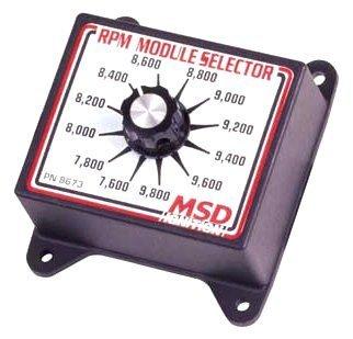 MSD 8673 RPM Module Selector -