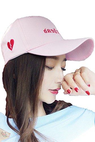 アラビア語電子独占Heaven Days(ヘブンデイズ) キャップ 野球帽 帽子 紫外線カット スポーツ ハート ツートンカラー 男女兼用 1807K0374