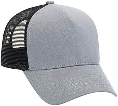 QOHNK Sombrero de Camionero de Franela de algodón con Malla ...