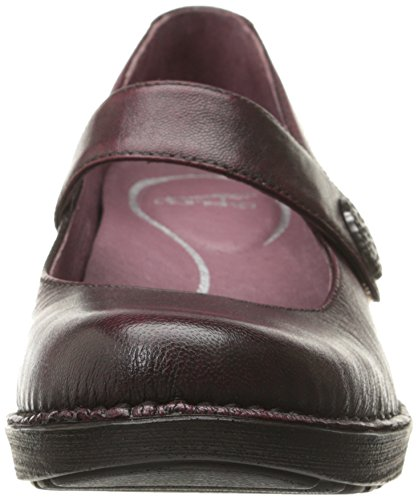 sale low cost Dansko Women's Adelle Mary Jane Flat Wine Brushoff Nappa supply online best store to get cheap online cheap outlet store outlet new styles wKDcGxkS3E