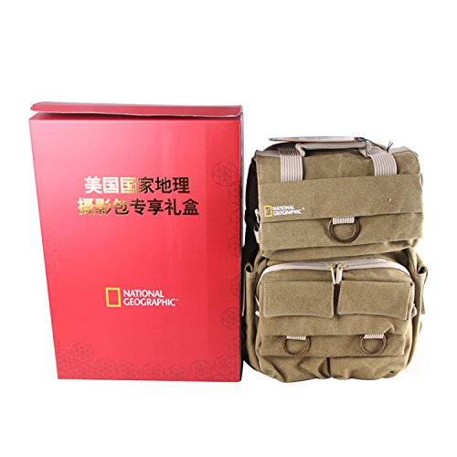 National Geographic NG 5160 Earth Explorer Medium Backpack (Explorer National Geographic Bag Earth)