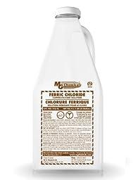 MG Chemicals Ferric Chloride Liquid, 4L Bottle, Dark Brown