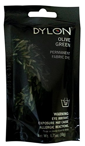 Dylon Permanent Fabric Dye -Olive