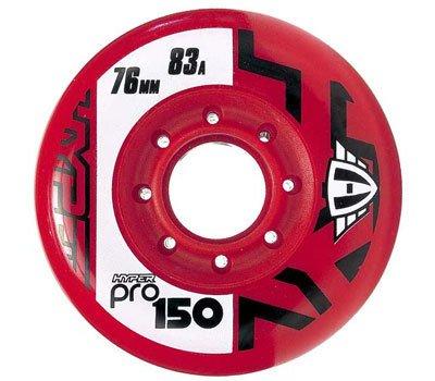 Hyper PRO 150 Inlinerolle 83A 80mm rot 4 Stück
