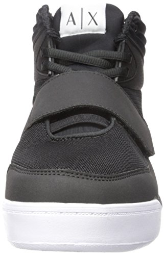 Sneaker Top Top Hi Exchange Mens A Hi X Armani Black Sneaker 6xaSz8