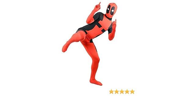 SuperSkins Disfraz - Disfraz de Deadpool para adultos y unisex ...