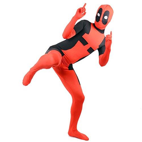 Deadpool superskin–Déguisement–Adulte unisexe hommes & femmes Seconde Peau   Zentai Combinaison en Lycra Vêtements Costume Halloween Bon Marché