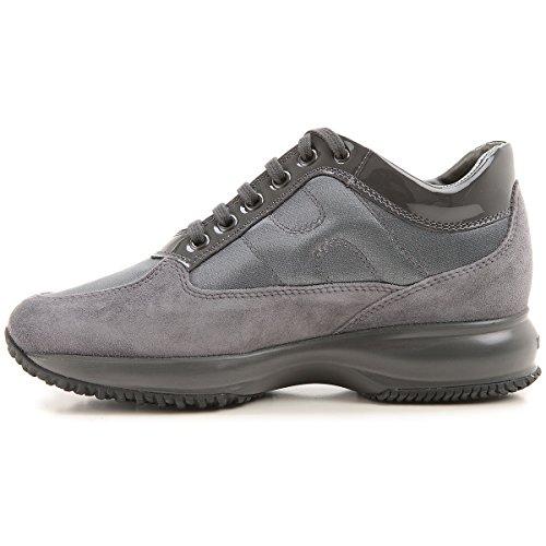 Donna Suede Hogan Grigio Sneakers Interactive 50qIz