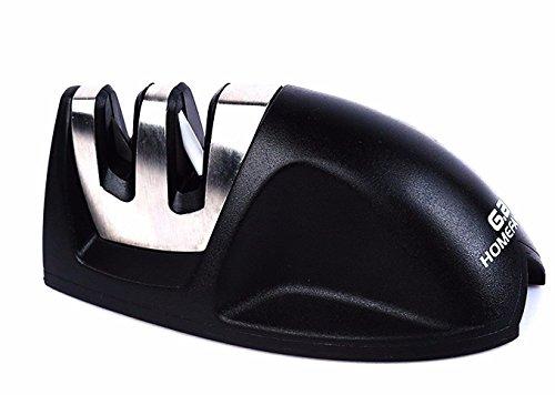 GA Homefavor V-Grip Edge Blades 2-stage Kitchen Knife Sharpe