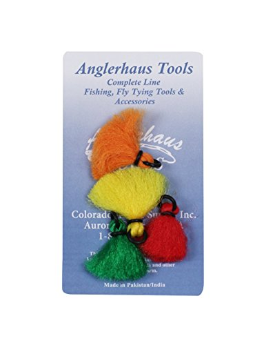 Creative Angler Strike Indicator Poly - 4 Pack for Fly Fishing