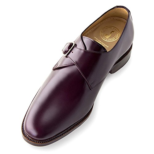 Masaltos Scarpe con Rialzo per Uomo Che Aumentano l'Altezza Fino a 7 cm. Fabbricate in Pelle. Modello Dallas Bordeaux
