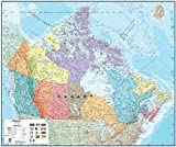 Round World Products Canada Laminated Map