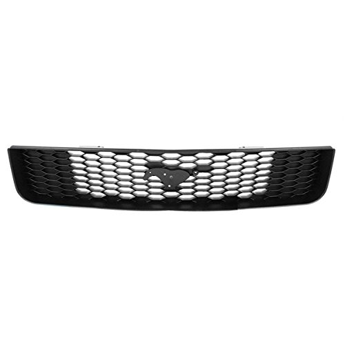 NEW 05-09 Mustang Front Face Bar Grill Grille Assembly Honeycomb Black FO1200421