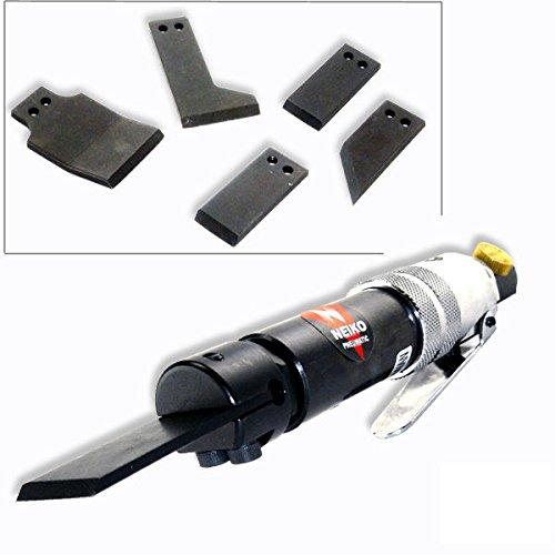 Neiko 30099A Pneumatic Scraper Kit with 5 Blades | Built-In Regulator | 4500 RPM