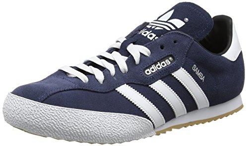 adidas Sam Super Suede, Sneaker Uomo Multicolore (Navy / Runbla)
