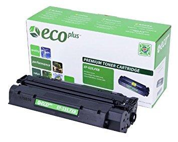 ECOPLUS Re-manufactured Toner Cartridge Replacement for Canon S35, FX8, 7833A001AA, Models Faxphone L170, L360, L380, ImageClass D310, D320, D340, LaserClass 310, 510, PC-D320, PC-D340, Black, 3.5K Yield