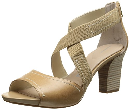Seven Nude to 7 75mm ROCKPORT Sandal Burnished Dress Strap Women Cross Cp7nx5
