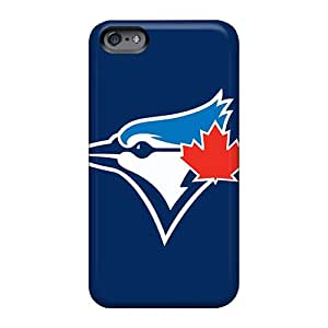 Apple Iphone 6 Plus CXj5659fFBG Customized Nice Baseball Toronto Blue Jays 3 Pictures Great Hard Phone Case -JohnPrimeauMaurice