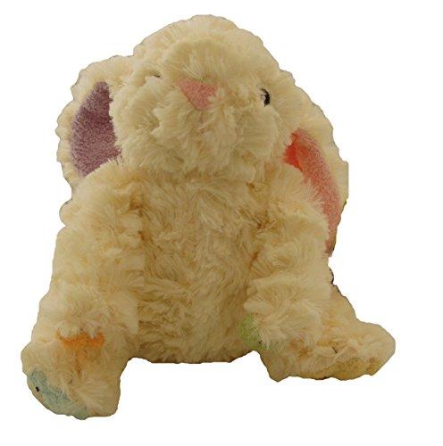 Animal Adventure Tinktoos Soft Plush Bunny Multi-Colored Ears & Feet Ivory -