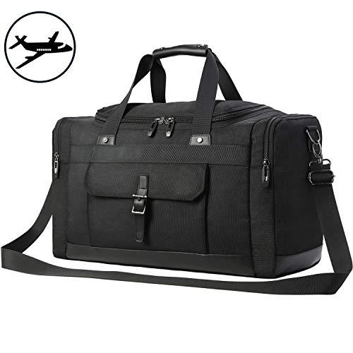 Domila Travel Duffel Bag 21'' Large Unisex Weekender Bag TSA Friendly Carry-on Luggage Tote Overnight Bag ()