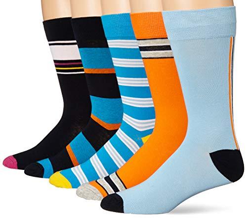 Amazon Brand – Goodthreads Men's 5-Pack Patterned Socks