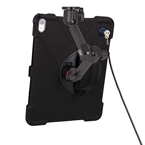 The Joy Factory MagConnect Carbon Fiber Wall/Counter Mount with aXtion Bold MPS Water-Resistant Rugged Security Case for iPad Pro 12.9'' [3rd Gen] Built-in Screen Protector, Hand Strap (MWA4104MPS) by The Joy Factory (Image #3)