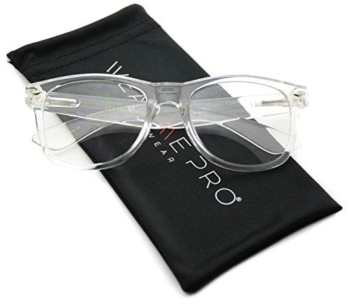 Clear Frame Glasses Nerd Clear Lens Sunglasses