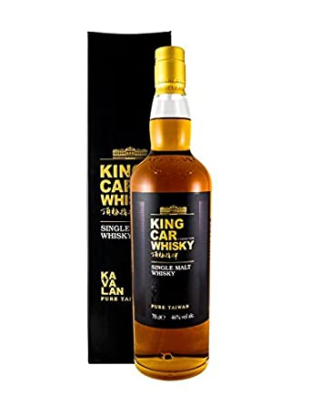 Kavalan - King Car, botella de whisky de malta, 700 ml: Amazon.es: Alimentación y bebidas