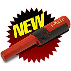 Fisher F-Pulse Waterproof Pinpointer Metal Detector, Red