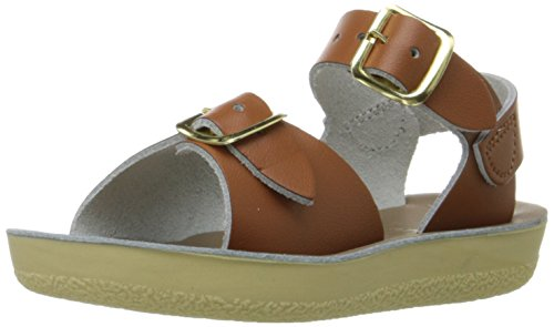 Salt Water Sandals by Hoy Shoe 1700-1705,Tan,7 M US Toddler