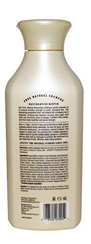 JASON All Natural Organic Biotin Shampoo and Conditioner For