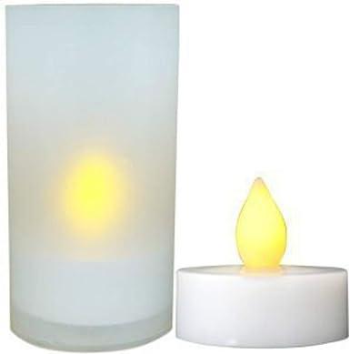 Daffodil LEC008 - Velas LED - Pack de 6 Velitas Eléctricas para Ambiente Romántico San Valentín- Velas sin Ceras: Amazon.es: Electrónica
